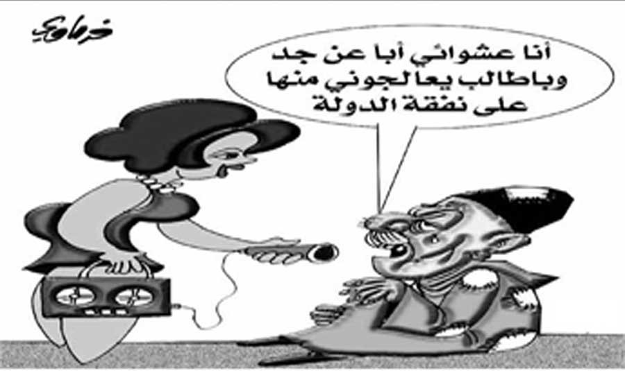 لبنان اليوم - بريشة : سعيد الفرماوي