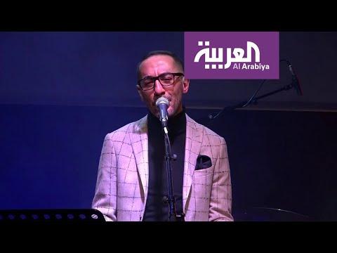 شاهد أغاني عمالقة مصر بنغمات الجاز بإبداع الفنان حرفوش