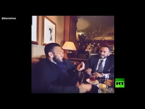نجم المنتخب البرازيلي يغني بالعربية مع تامر حسني يولع الدنيا
