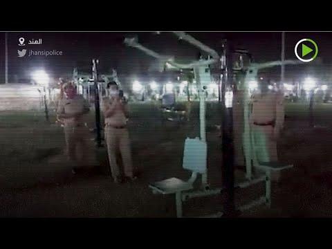 شخص يُحاول بث الذعر بين سكان مدينة أوتار برادش الهندية