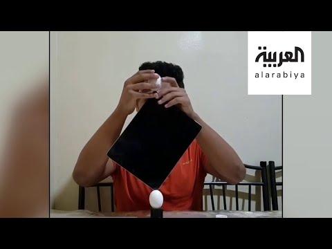 محمد مُقبل شاب يمني يدخل غينيس بتوازن البيض