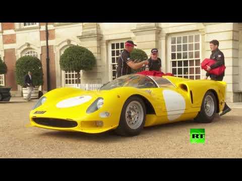 إقامة أول معرض للسيارات القديمة بقصر هامبتون كورت في لندن