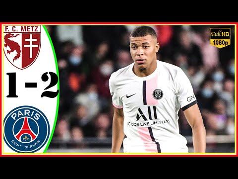 باريس سان جيرمان يتغلب على ميتز بالوقت القاتل في بطولة الدوري الفرنسي