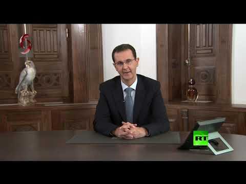 بشار الأسد يوجه التهنئة لأهالي حلب ويتعهد بمواصلة تحرير كامل الأراضي السورية