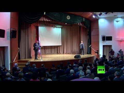 شاهد فعاليات اليوم العالمي للتضامن مع الشعب الفلسطيني في موسكو