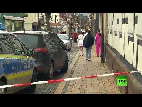شاهد موقع حادثة دهس خلال احتفالات في مدينة فولكمارسن الألمانية