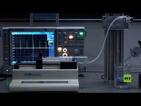توليد الكهرباء من قطرة ماء فقط