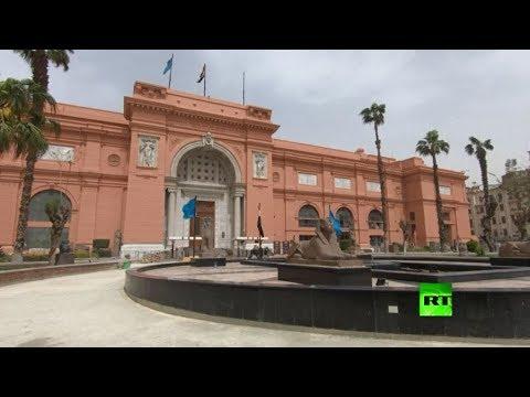 تعقيم قاعات المتحف المصري الكبير وسط مخاوف من انتشار كورونا