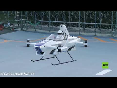 تحليق أول سيارة طائرة في العالم بنجاح
