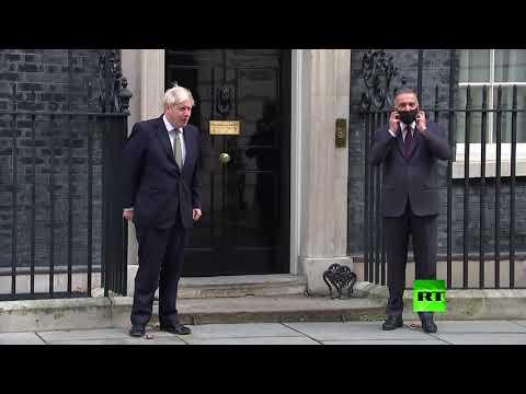 شاهد رئيس الحكومة العراقية يلتقي جونسون في آخر محطاته الأوروبية