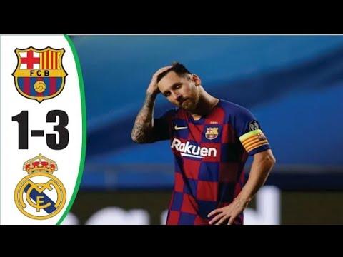 شاهد أربعة أهداف مُثيرة في مباراة برشلونة وريال مدريد