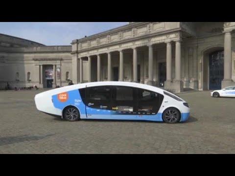 مركبّة بمقصورة مجهّزة تعمل بالطاقة الشمسية وتسيرُ 730 كلم بطاقة مولّدة ذاتياً